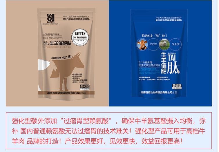 牛羊催肥添加剂
